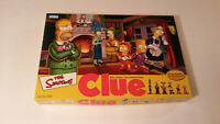 The Simpsons Clue Board Game 2002 2nd edition (Complete)