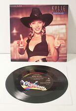 "Kylie Minogue NEVER TOO LATE 7"" VINYL Australian LIMITED EDITION 1989 Mushroom"