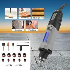 190W Electric Die Grinder Power Drill 6 Positions Variable Speed Rotary Tool Set