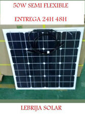 50W PANEL SOLAR SEMI FLEXIBLE PLACA 12V MONOCRISTALINO 48H 100W 120W 130W 150W