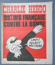 ►CHARLIE HEBDO N°133  - JUIN 1973 - WOLINSKI