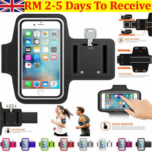 Sports Arm Band Phone Holder Bag Running Gym Armband Exercise For All Phones UK