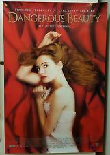 """Catherine McCormack Dangerous Beauty Double Sided 27x40"""" One Sheet Poster M26"""