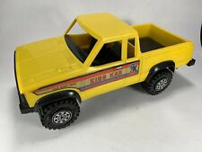 Vintage Strombecker Nissan ? KING KAB 4x4 Pick Up Toy Truck Yellow
