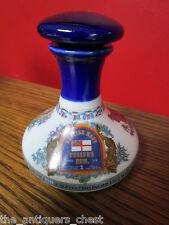 "Pussers's Rum British Navy decanter (empty) ""Rule Britannia""  [a*4-14]"