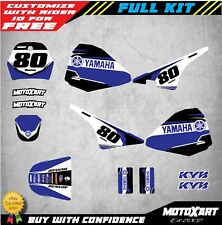 Full  Custom Graphic Kit DUSTY STYLE YAMAHA PW Pee Wee 80 stickers decals