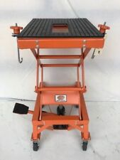 MOTORCYCLE SCISSOR LIFT STAND JACK  DOLLIE   HYDRAULIC AS-2615:2016  (MC6504)
