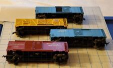 HO scale model train freight cars lot various manufacturers missing some parts