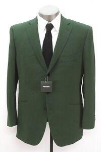 NEW olive INDOCHINO stapleford seersucker blazer jacket suit sport coat 44 R