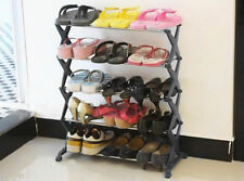 5 Tier Metal Shoe Rack Stand Storage Organiser Holder Holds 15 Pairs