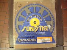 SUNSTAR 52 TOOTH REAR SPROCKET FOR 1991-92 KTM 125DXC, 5-354752
