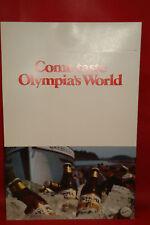 OLYMPIA BEER UNUSED store display ADVERTISING SIGN OLY