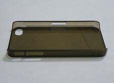 Charcoal Gray Ultra Thin 0.5mm Plastic Case for Apple iPhone 4 4S