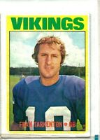 1972 Topps #225 Fran Tarkenton