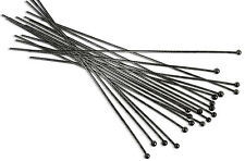 "(20) Gun Metal Plated Head Pin 3"" Long 2mm Ball 22 Gauge Wire Beading Craft"