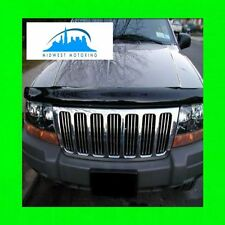 1999-2004 JEEP GRAND CHEROKEE CHROME GRILLE GRILL TRIM 2000 2001 2002 2003 WRNTY