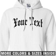 Custom Gothic Thug HOODIE Personalized Sweatshirt  All Sizes & Colors