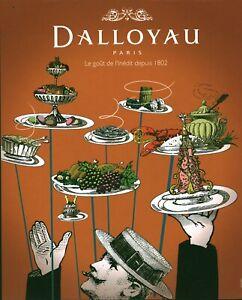 Publicité contemporaine issue de magazine Dalloyau issue de magazine