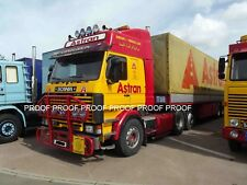 "classic truck lorry photo 6""x4"" ASTRAN Scania 143M tractor unit a GDS15"