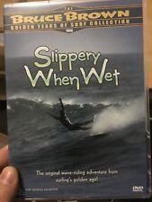 The Bruce Brown Golden Years Of Surf - Slippery When Wet region 4 DVD (surfing)