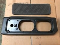 Land Rover Discovery OEM Black Cargo Door Speaker Cover 99-04 Rear