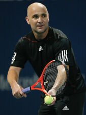 Andre Agassi's Personal Pro Stock Youtek Radical OS Paintjob Tennis Racquet