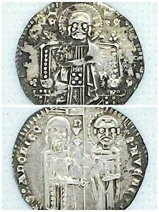 (1289-1311) Italy AR Grosso Venice Pietro Gradenigo (Very Nice Coin)