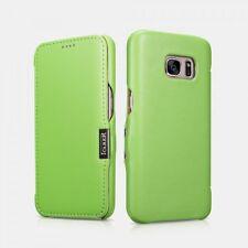 Samsung Galaxy S7 Etui en cuir de luxe Luxury Vert