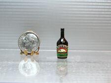 Dollhouse Miniature Plastic Irish Cream Bottle