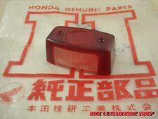 NOS HONDA CZ100 CB92 CB95 CS92 C92 C95 C71 CS71 CS76 C72 C77 CS77 Taillight Lens