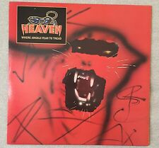 HEAVEN WHERE ANGELS FEAR TO TREAD Vinyl LP Columbia Records 1983 BFC38937