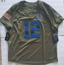 37299aae7 NEW Nike Indianapolis Colts Salute to Service Jersey Andrew Luck  12 Womens  XXL