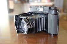 Fujifilm GF670 Professional Medium Format Rangefinder Film Camera Black