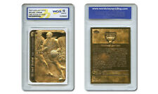 MICHAEL JORDAN 1986 FLEER STICKER ROOKIE 23K GOLD CARD - Graded Gem Mint 10