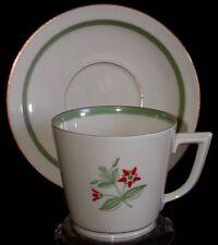 Royal Copenhagen Denmark Porcelain Cup & Saucer - Fensmark 1010 9481
