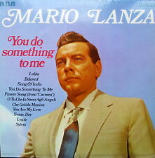 MARIO LANZA You Do Something To Me LP RCA Camden CDM1001 Excellent