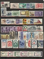 52 Used: Four Cent US stamps! Inc.#1139-44