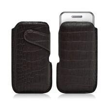 Housse coque étui pochette style croco pour Samsung Player One S5230