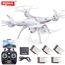 Syma X5Sw-V3 Drone Rc Quadcopter Wifi with Hd Camera 6-Axis Gyro Rtf 5 Batteries