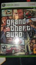 Grand Theft Auto IV Xbox 360 includes manual and case, no map