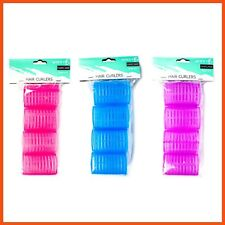 48 x HAIR CURLERS | Rollers Hair Accessories Styling Curls No Heat Wet Dry Night