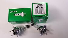 2 Genuine LUCAS LLB477 477 H7 12V 55W HALOGEN HEADLAMP BULBS Pair