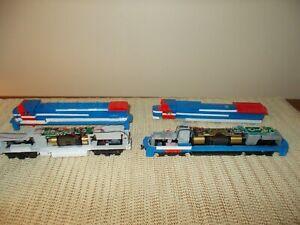 1990's ATLAS DASH 8-40C & LEAF GEN-SET LOCOMOTIVE: DCC CUSTOM PROJECTS PARTS/FIX