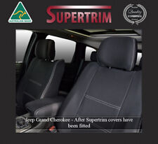 Front And Rear Seat Cover Fit Jeep Grand Cherokee 2011 Now Neoprene Waterproof