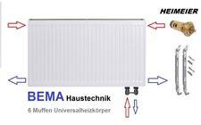 Ventilheizkörper * Typ 22 - BH 600 x BL  800 mm  mit Zubehör