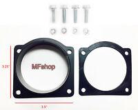 Mass Air Flow Sensor Intake Adapter RED Filter For 99-04 F250 Super Duty 5.4L