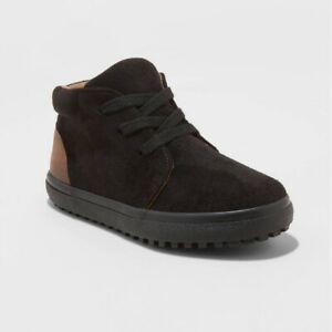 Cat & Jack Toddler Boys Axel Sneakers Black - Size 10