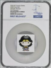 2020 CHIBI COIN Wonder Woman SILVER COIN NGC PF69FIRST RELEASES BOX & COA