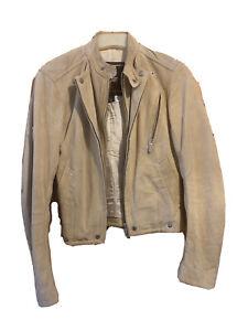 Vintage Belstaff Suede Aviator Jacket