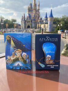 2021 Disney Parks Atlantis: The Lost Empire 20th Anniversary Magic Band LE 500